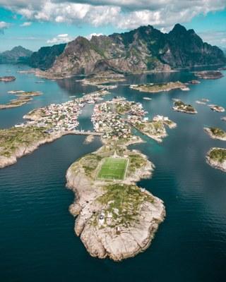 Fjordlandschaft Norwegen